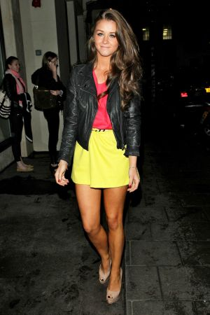 Brooke Vincent at Aura Night-Club in London, England. 10.07.2012