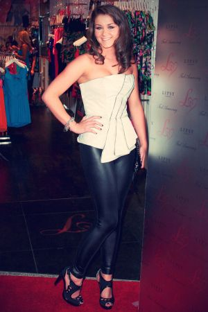 Brooke Vincent attends Lipsy store opening