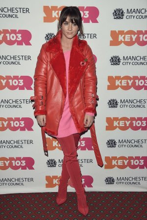 Brooke Vincent attends Manchester Xmas Switch On