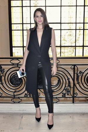 Bruna Marquezine attends Jean-Paul Gaultier show