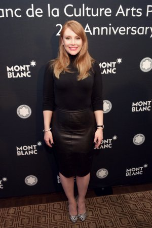 Bryce Dallas Howard attends the 25th annual Montblanc de la Culture Arts Patronage Award