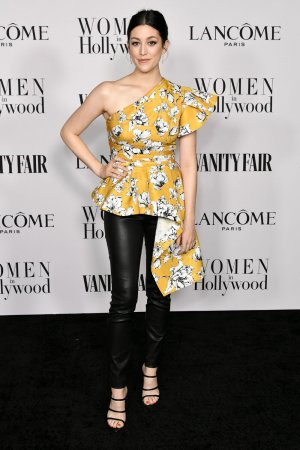 Caitlin McGee attendsVanity Fair and Lancome Celebrate Women