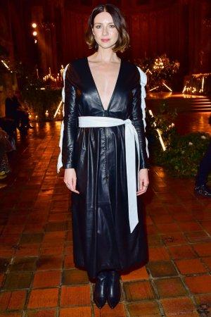 Caitriona Balfe attends Rodarte fashion show