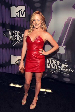 Caity Lotz attends 2011 MTV Video Music Awards