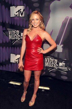 Caity Lotz attends 2011 MTV Video Music Awards