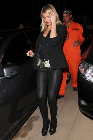 Cameron Diaz attending a Halloween party in Beverly Hills