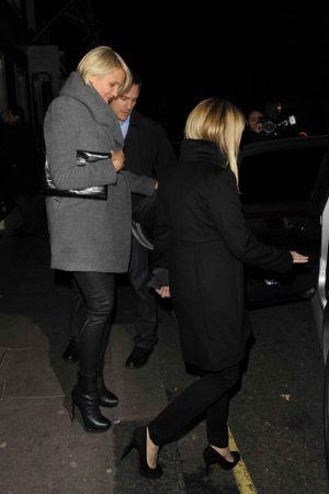 Cameron Diaz leaving The Arts Club in London
