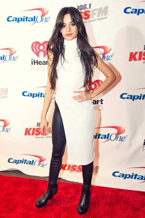 Camila Cabello at 106.1 KISS FM's Jingle Ball 2015