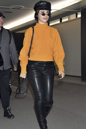 Camila Cabello at Narita International Airport