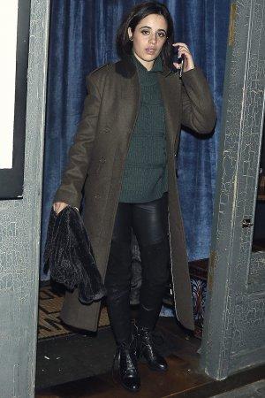 Camila Cabello leaves balans soho society restaurant