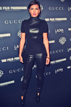 Camilla Belle attends Gucci's presentation of The Restoration Premiere of Rebel Without A Cause