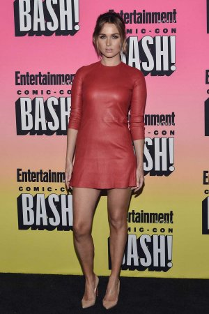 Camilla Luddington attends Entertainment Weekly's Comic Con Bash