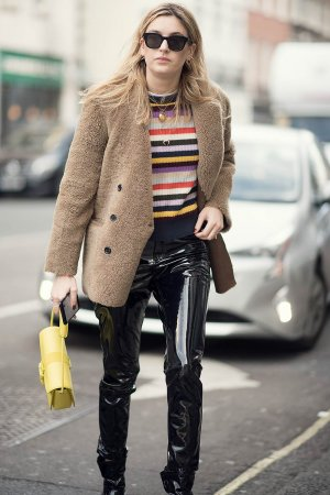 Camille Charriare street style in London