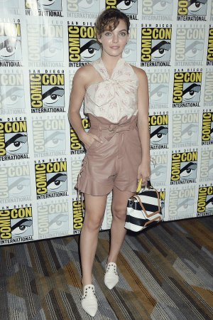 Camren Bicondova attends Gotham Press Line