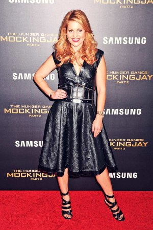 Candace Cameron Bure attends NY Screening oo The Hunger Games Mockingjay, Part 2