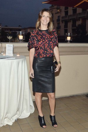 Candace Nelson attends Cuyana Fewer Better Dinner