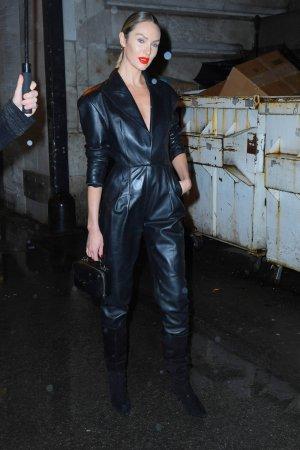 Candice Swanepoel attending Oscar de la Renta fashion show