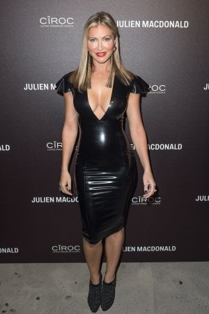 Caprice attends Julien Macdonald show