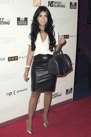 "Cara De La Hoyde arrives for the film premiere of ""The Intent"""