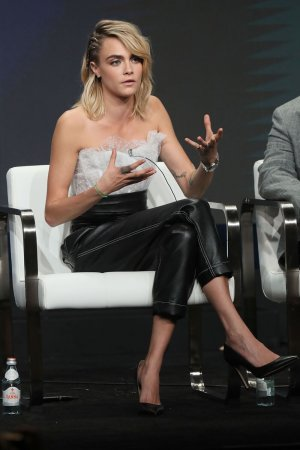 Cara Delevingne attending 2019 Summer TCA Press Tour