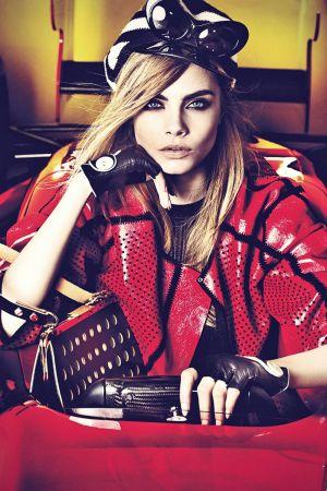 Cara Delevingne in Vogue Portugal
