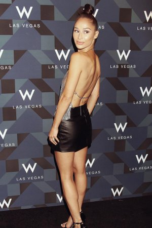 Cara Santana at W Las Vegas Hosts Grand Opening Celebration
