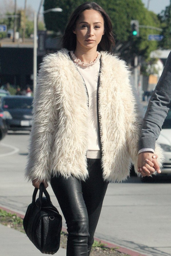 Cara Santana out for lunch in Beverly Hills