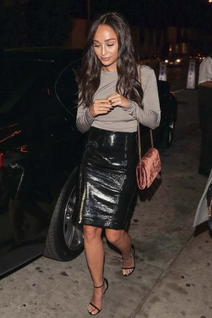 Cara Santana out in LA