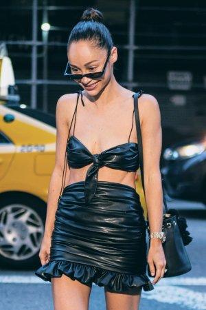 Cara Santana seen in NYC