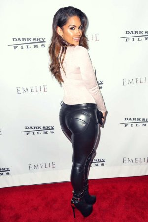 Carissa Rosario attends the premiere of Dark Sky Films Emelie