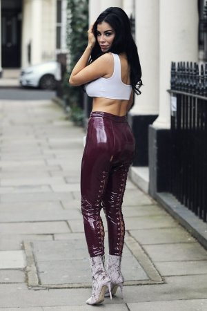 Carla Howe out and about in London