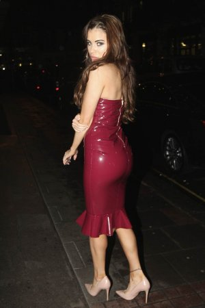 Carla Howe out in London