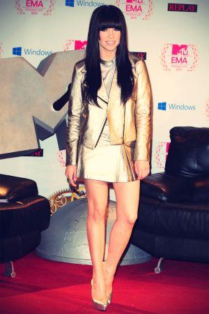 Carly Rae Jepsen at 2012 MTV EMA