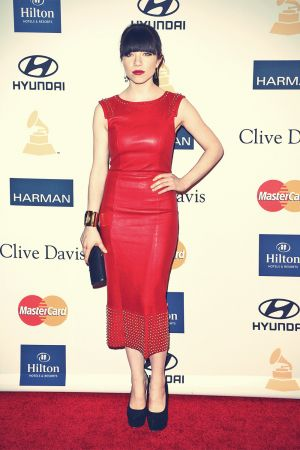 Carly Rae Jepsen attends Clive Davis & Recording Academy's Pre-Grammy Gala