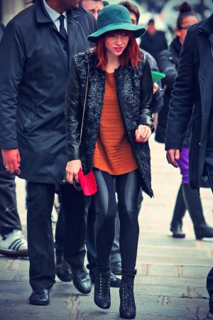 Carly Rae Jepsen out in Paris