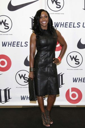 Carmelita Jeter attends the Healthy Compton Festival Kickoff VIP Reception
