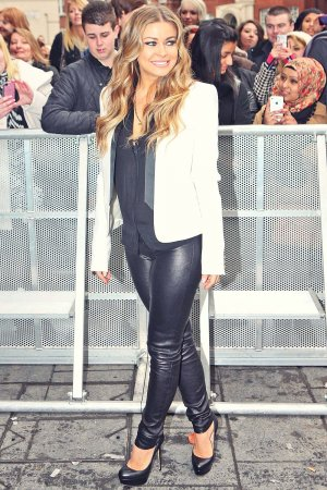 Carmen Electra attends the Britain's Got Talent London auditions