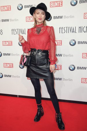 Caro Cult attends Bunte & BMW Festival Night