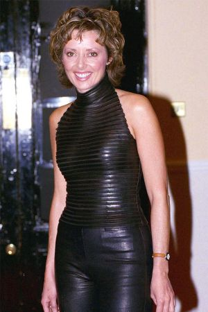 Carol Vorderman at Grand Prix Party Feb 2002