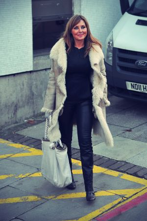 Carol Vorderman at London Studios
