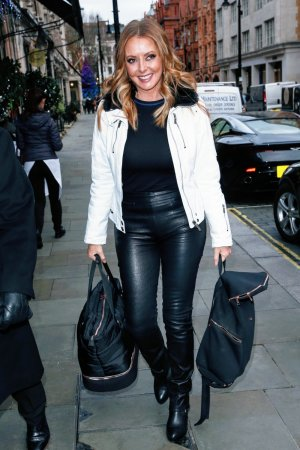 Carol Vorderman at Scotts Restaurant