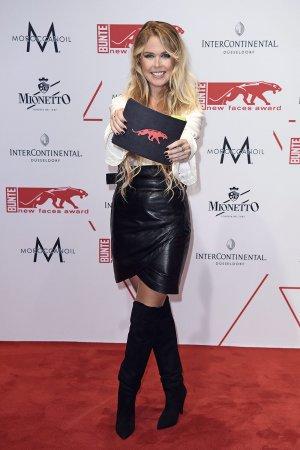 Carolin Nicola Henseler attends Bunte New Faces Award Show
