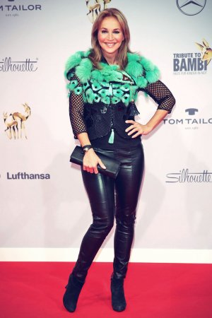 Caroline Beil attends Tribute to Bambi in Berlin