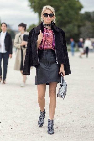 Caroline Daur at Paris Fashion Week
