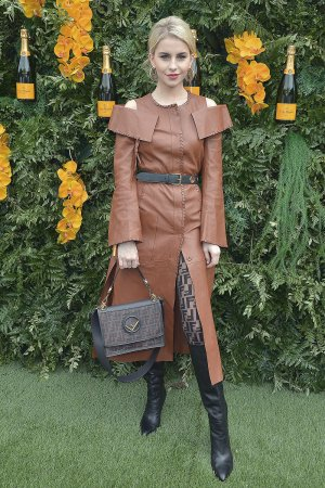 Caroline Daur attends 4th annual Veuve Clicquot Carnaval