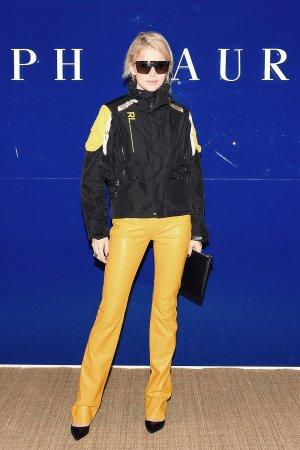 Caroline Daur attends Ralph Lauren show