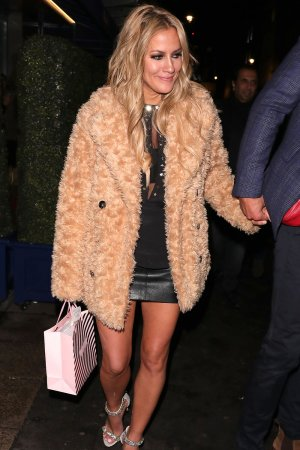 Caroline Flack at Bagatelle restaurant