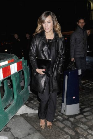 Caroline Flack attends Instyle EE BAFTA Rising Star Award party