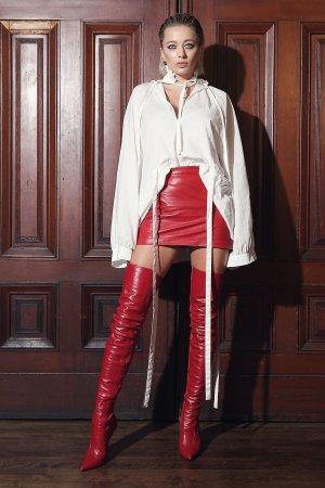 Caroline Vreeland attends Marc Jacobs show