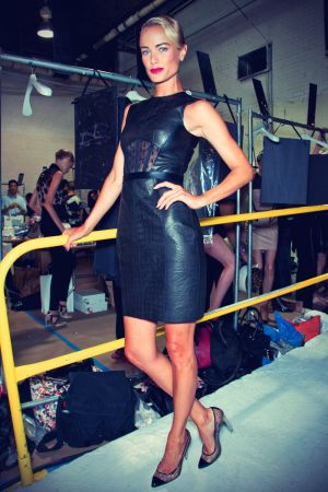Carolyn Murphy at Jason Wu Backstage